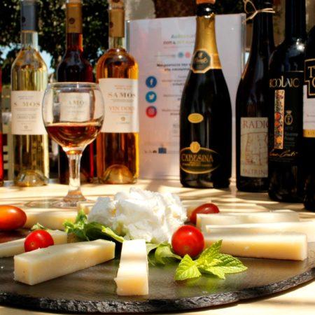 Οινογαστρονομική εκδήλωση στη Νάξο στα πλαίσια του «Mediterranean Cheese & Wines»